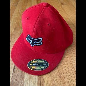 Fox Red Flat Bib Hat 7 1/4 - 7 5/8 New, Never Worn